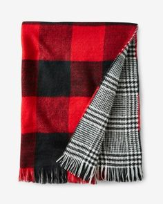 buffalo check reversible scarf from EXPRESS