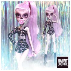 All Monster High Dolls, Monster High Clothes, Monster Dolls, Little Doll, Doll Repaint, Swag Style, Pretty Dolls, Barbie Dress, Gothic Girls