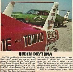 Big Willie and Queen Daytona