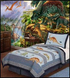 Awesome dinosaur wall stickers. Pinned for Kidfolio, the parenting mobile app that makes sharing a snap