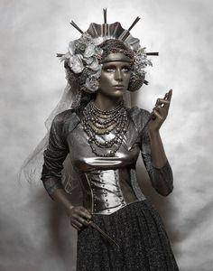 Ancient Goddess - Dark Beauty Magazine. Photographer: Lucia Giacani