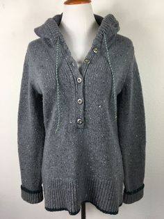 Ambitious Womens Boden Medium Button Down Sweater Cotton Blend Size M. Sweaters
