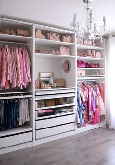 Helpful Closet Organization Tips Featuring The IKEA Pax Wardrobe Ikea Pax Closet, Ikea Pax Wardrobe, Wardrobe Room, Wardrobe Closet, Bedroom Closet Design, Closet Designs, Bedroom Storage, Bedroom Decor, Wardrobe Organisation