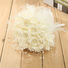 Bridal Wedding Bouquet Brooch Imitation Pearls Posy White Simulation Flowers is personalized, see other cheap bridal bouquets on NewChic. Broschen Bouquets, Wedding Bouquets, Wedding Favors, Wedding Events, Wedding Decorations, Flower Brooch, Wedding Accessories, Pearls, Bridal