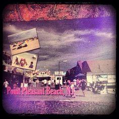 2013-08-02 #Postcard from #UnitedStates (US-2341909) via #postcrossing #NewJersey #PointPleasantBeach #beach #boardwalk #Padgram