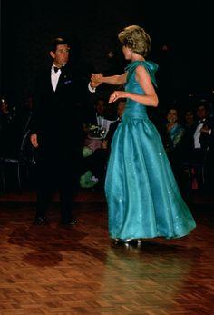 1988 Australian Bicenteniary Royal Tour. HRH's Prince & Princess of Wales.
