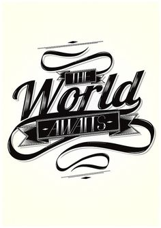 Type Experiements by Andrew Footit, via Flickr