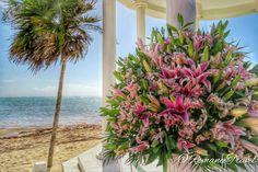 Beautiful wedding flowers, Grand Palladium Riviera Complex #GrandPalladium #RomanceTravel   Follow us on Instagram @RomanceTravel  Grand Palladium Riviera Maya, Wedding Flowers, Plants, Beautiful, Instagram, Plant, Planets, Bridal Flowers