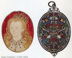 Nicholas Hilliard miniature of Elizabeth I