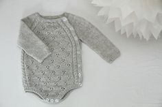 Tiriltunge Nyfødt body Norwegian pattern by Shja on Etsy