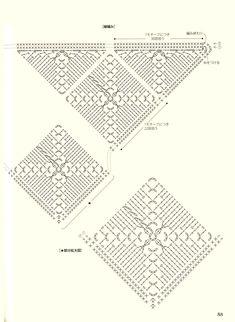 Scarf Hat, Crochet Chart, Crochet Scarves, Stitch Patterns, Knitting, Rugs, Home Decor, Shawl, Crocheting