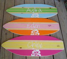 Ideas to repaint Lyric's surfboard
