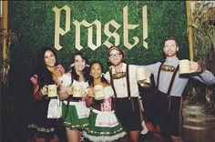 Prost photo backdrop