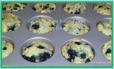 Gluten and Dairy Free Muffin Recipe #glutenfree #dairyfree #muffins