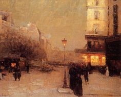 Luigi Loir >> Paris at Night