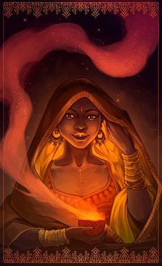 Reylo Mahabharata - Mazha by LiberLibelula.deviantart.com on @DeviantArt