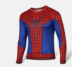 Marvel Comics Pure Hero SPIDER-MAN Bike Cycling Jersey Shirt S L M Spiderman