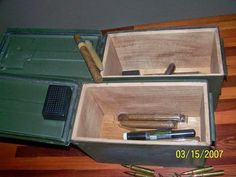 Can Storage, Storage Rack, Magazine Storage, Ammo Cans, Electronics Components, Bug Out Bag, Center Console, Wood Crates, Lamp Bases