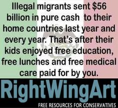 Cost of illegal immigration, paid by you...