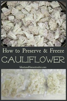 Have an abundance of cauliflower? Here's how we preserve and freeze cauliflower to eat year round in our favorite recipes! Freezing Pesto, Freezing Fruit, Cauliflower Pizza, Cauliflower Recipes, Freezing Broccoli, Homemade Tomato Pasta Sauce, Homemade Spices, Rose Hip Jelly