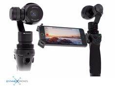 "DJI Osmo Advanced Handheld Gimbal System with X3 Camera *Now Includes 2 Extra Batteries* Product Highlights: - 1/2.3"" CMOS Sensor - 4K (4096 x 2160) Video at 24 or 25p - 120 fps Full HD Video for Slow"