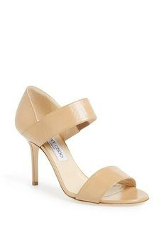 Jimmy Choo Tesoro Nude Sandals. Get the must-have sandals of this season! These Jimmy Choo Tesoro Nude Sandals are a top 10 member favorite on Tradesy. Save on yours before they're sold out!