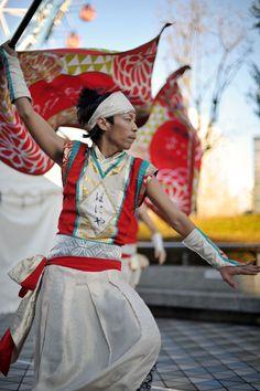 Yosakoi dancer, Furusato Matsuri