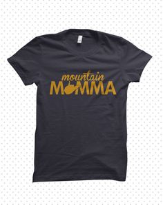 Mountain Momma West Virginia TShirt MADE TO by HandmadeEscapade