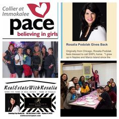 So Honored! Check out Spotlight in PACE Center for Girls Newsletter  Click Here for newsletter http://conta.cc/2joOX50  It takes a village - Specials Thanks to: Midwest One Bank American Eagle Mortgage First Florida Integrity Bank Kiwanis and volunteer committee: Jessica Macera Tammy Miloro Rachele Marsh Amber Phillips Valentina Dimitri Nancy Joseph (Best Glam Squad) and Indira Maharaj for hosting our meetings.  #naplesfl #naplesflorida #givingback #charity #love #rosaliapodolak…