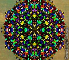 Day 29: Funky Disco Aliens (kaleidoscope)