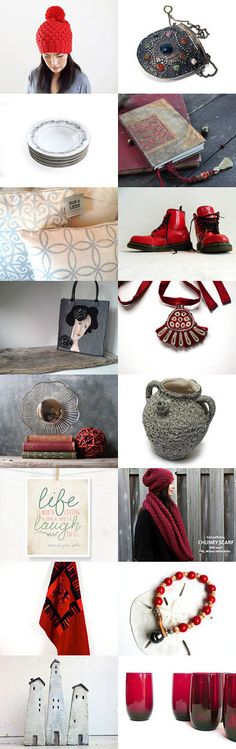 Red is for every Occasion by ILONA on Etsy--Pinned with TreasuryPin.com