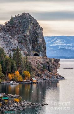 The Lady Of The Lake - Cave Rock, Lake Tahoe