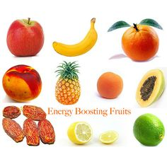 AWESOME Energy boosting fruits