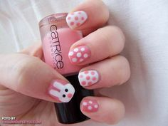 <3 15 The Cutest Easter Nail Art <3