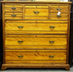This piece is gorgeous it is a must see! Price: $1,500.00 http://www.theguildshop.org/maple-british-chest