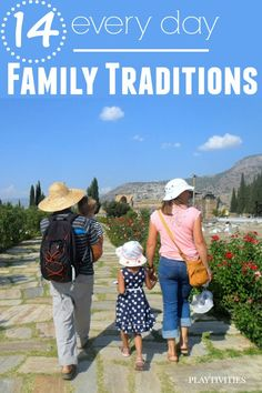 family traditions to keep