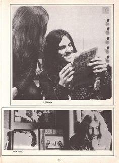 Lemmy, Hawkwind era 1972