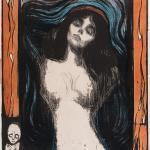 Edvard Munch Madonna painting is shipped worldwide,including stretched canvas and framed art.This Edvard Munch Madonna painting is available at custom size. Edvard Munch, La Madone, Google Art Project, Art Moderne, Art Graphique, Art Google, Art Museum, Museum Exhibition, Art History