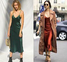 this summer, silk slip dress is poping Silk Nightgown, Silk Dress, Silk Slip, Night Gown, Satin, Summer, Dresses, Fashion, Silk Gown