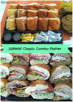 Try out #SUBWAYCatering to help take the stress out of birthday menu party planning!