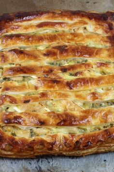 Chicken, Leek and Brie Pie