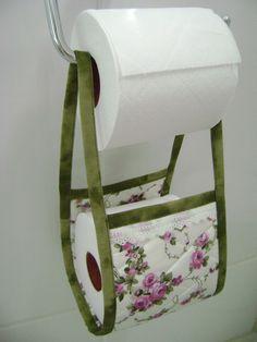 Porta Papel-higiênico Verde