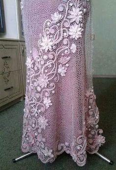 Russian style Irish crochet skirt                                                                                                                                                      More