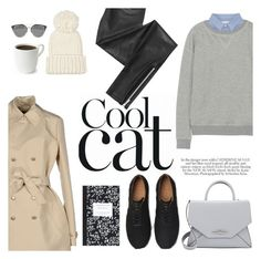 """""""cool cat"""" by beyene ❤ liked on Polyvore featuring Band of Outsiders, Eugenia Kim, Blondoll, Givenchy, Just Cavalli and Dot & Bo"""
