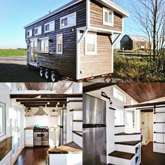 Some people may dream of mansions in the hills but I've been dreaming of a #tinyhouse They are so nice and eco friendly and would let me live in all of the fabulous places I wish to be!! Not sure about parking this in Manhattan though. @tinylivinghomes #travel #lifegoals #ecofriendly #consciousness #living #travelgram @tiny.housenation by annmariemanzoeillo