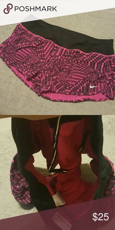 Nike rival printed running shorts size Large New w/tags. Dri Fit. Size Large. Has lining & draw string Nike Shorts