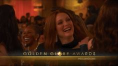 And Julianne Moore laughed. | The 19 Most Important Things That Happened At The 2016 Golden Globe Awards