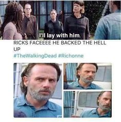 The walking dead funny meme. One of the best part of the episode