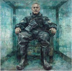 Damien Hirst appears as 'dark overlord of contemporary art' in sinister new Jonathan Yeo portrait National Portrait Gallery, Damien Hirst, Jonathan Yeo, Portrait Artist, Urban Art, Painting, Art Pass, Art, Portrait Gallery