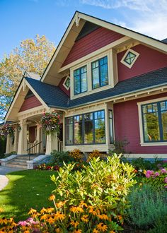 Craftsman...  love the style and color